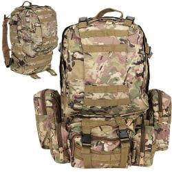Militäryggsäck XXL 48L Camo Khaki