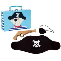 Piratväska med Pistol/Hatt/Ögonlapp multifärg one size