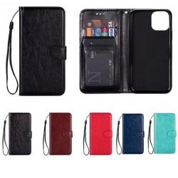 Plånboksfodral iPhone 11, 3 kort med ID Svart