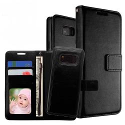 Plånboksfodral / Magnetskal Samsung S7 Svart