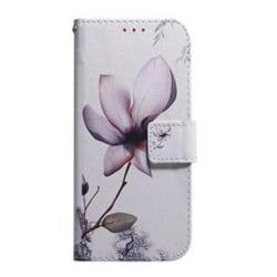 Plånboksfodral, Samsung S10e, Blomma Rosa