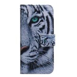 Plånboksfodral, Samsung S10e, Tiger grå