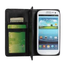 Plånboksfodral Samsung S3, Multikort, supercool Svart