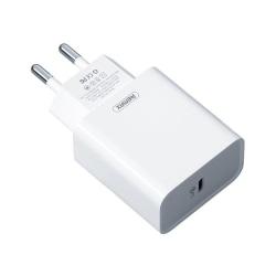 Remax 18w PD Snabbladdare för iPhone 12 med USB-C White