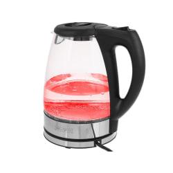 Royalty Line Vattenkokare i glas med Röd LED Röd
