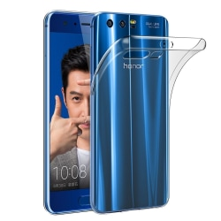 Skal i genomskinligt gummi, Honor 9 Transparent