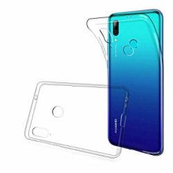 Skal i genomskinligt gummi, Huawei P Smart 2019 Transparent