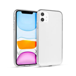Skal i genomskinligt gummi, Huawei P40 Lite Transparent