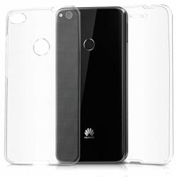 Skal i genomskinligt gummi, Huawei P8 Transparent