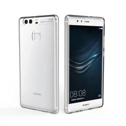 Skal i genomskinligt gummi, Huawei P9 Transparent