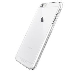 Skal i genomskinligt gummi, iPhone 6/6s Transparent