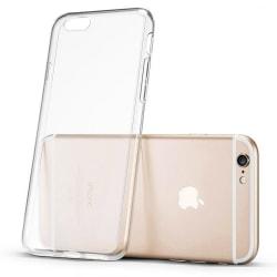 Skal i genomskinligt gummi, iPhone 6s Transparent
