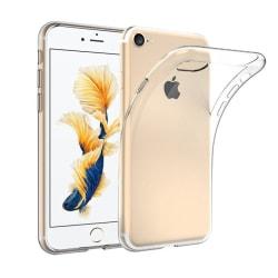 Skal i genomskinligt gummi, iPhone 7 / 8 / SE (2:nd gen) Transparent