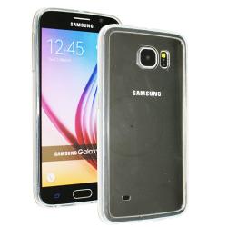 Samsung Galaxy S6 Skal i genomskinligt gummi,  Transparent