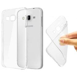 Samsung J3 2016 Skal i genomskinligt gummi,  Transparent