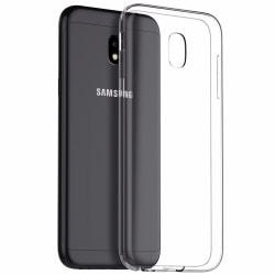 Samsung J7 2017 Skal i genomskinligt gummi,  Transparent
