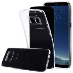 Skal i genomskinligt gummi, Samsung S8 Plus Transparent