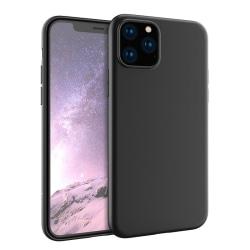 Skal i gummi, iPhone 11 Pro, matt svart Svart