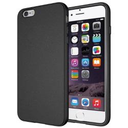 Skal i gummi (TPU), iPhone 6s, svart Svart