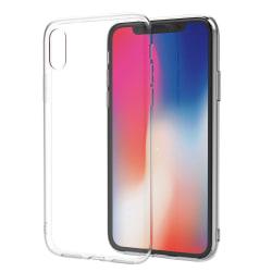 Skal iPhone Xs Max i genomskinligt gummi Transparent
