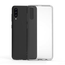 Skal Samsung A70 i genomskinligt gummi,  Transparent