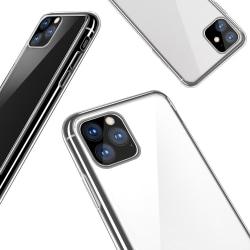 Skal iPhone 11 Pro Max i klart gummi Natur