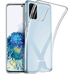 Skal Samsung S20 Plus i genomskinligt gummi,  Transparent