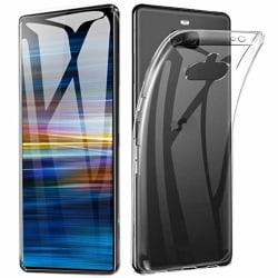 Skal Sony Xperia 10 i klart gummi Transparent