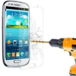 Skärmskydd i härdat glas för Samsung Galaxy S3 mini Transparent
