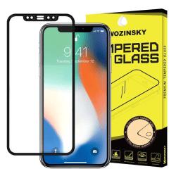 Skärmskydd Samsung J4+ / J6+ i härdat glas Fullskärm Svart