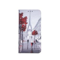 Trendy Plånboksfodral, Samsung A71, Lovers in Paris 2 grå