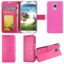 Plånboksfodral Galaxy S4 mini, 2 kort med ID