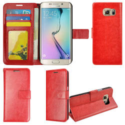 Plånboksfodral Galaxy S6 Edge PLUS, slim modell, 2 kort + ID