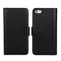 Plånboksfodral iPhone 5/5s/SE äkta skinn