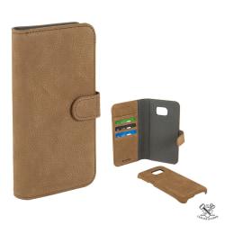 Plånboksfodral Samsung S7 Edge , äkta läder, Magn. skal