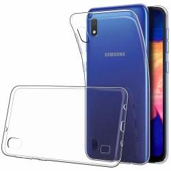 Samsung A10, Skal i genomskinligt gummi