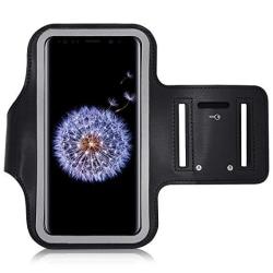 Sportarmband för iPhone 12 Svart Svart