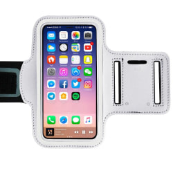 Sportarmband för iPhone 12 Vit Vit