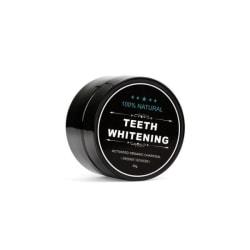 100% Naturlig Tandblekning - Teeth Whitening Charcoal (30 g)