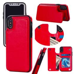 Back Card Case - iPhone 6+ Röd