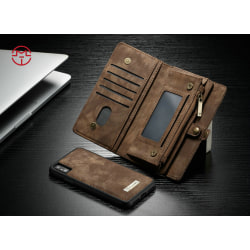 Case Me magnetic wallet  - iPhone 7/8 Brun