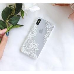 Lace Case - iPhone 7/8+ Vit