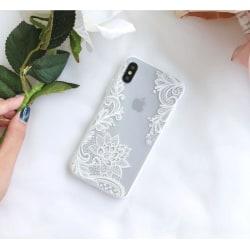 Lace Case - iPhone X Vit