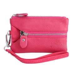 Multiplånbok till mobilen/nycklarna/kreditkorten i olika färger Rosa