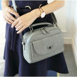 Nubuck Bag grå
