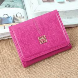 Plånbok KL-047 Mörkrosa