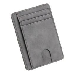 Slim RFID Blocking Wallet grå