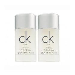2-pack Calvin Klein Ck One Deostick 75ml Transparent