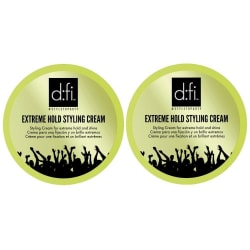 2-Pack D:fi Extreme Hold Styling Cream 75g Transparent
