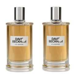 2-pack David Beckham Classic Edt 40ml Transparent